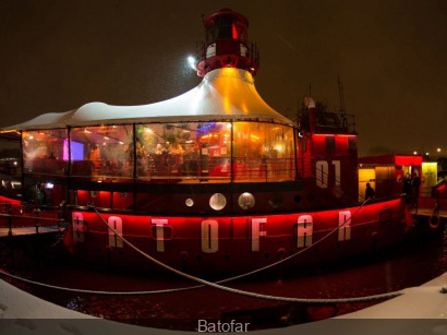 Foodboat 3, welcome summer au Batofar