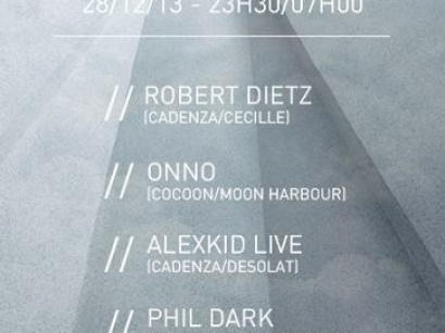 WE WANT DANCE : THE 70'S SHOWCASE AVEC ROBERT DIETZ, ALEXKID, ONNO & PHIL DARK