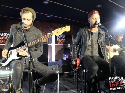 Report : One Republic en showcase privé Paris in Live by Virgin Radio