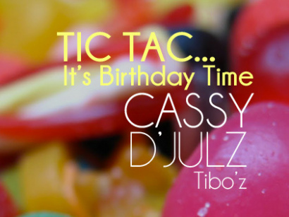 Tic Tac… It's Birthday Time au Zig Zag