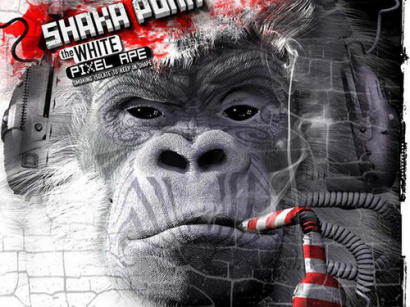 "Sortie du nouvel album de Shaka Ponk ""The White Pixel Ape"""