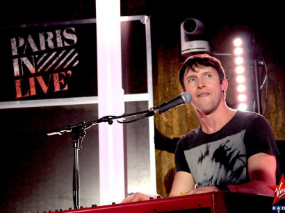 Report : James Blunt en showcase privé Paris in Live by Virgin Radio
