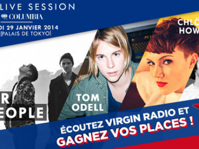 Virgin Radio présente Creative Live Sessions by Columbia au Yoyo : gagnez vos invits !