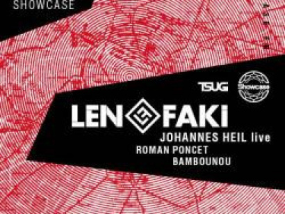 Figure Label Night au Showcase avec Len Faki