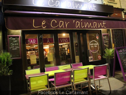 Le Car'aimant : bar à vins à Paris
