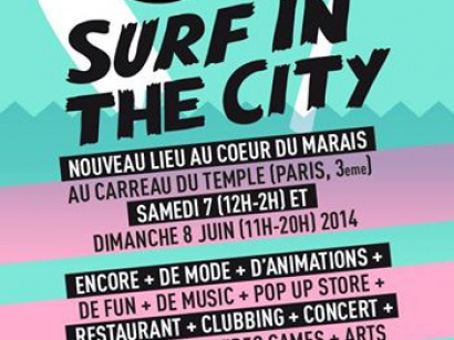 Brunch Bazar au Carreau du Temple : Surf in the City