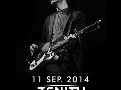 Beck en concert unique au Zénith de Paris en septembre 2014