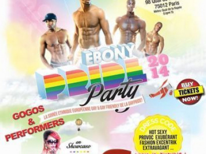 Ebony Pride Party 2014 aux salons Vianey à Paris
