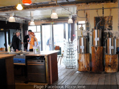 La REcyclerie à Paris : bar, restaurant, ateliers…