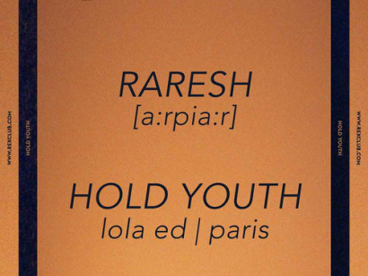 Hold Youth Residency au Rex Club