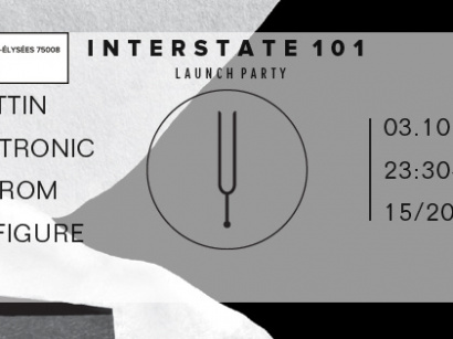 Interstate 101 Launch Party au Showcase avec Miss Kittin
