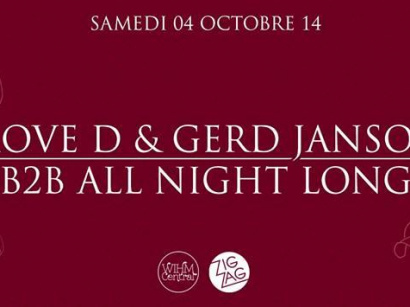 Move D & Gerd Janson B2B All Night Long au Zig Zag Club