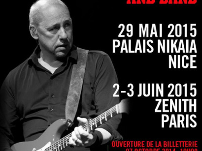 An Evening with Mark Knopfler and Band au Zénith de Paris en 2015