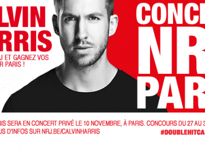 Calvin Harris au Showcase Paris le 10 novembre 2014