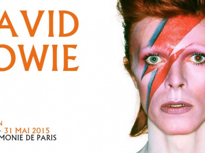 "Exposition ""David Bowie Is"" à la Philharmonie de Paris en 2015"