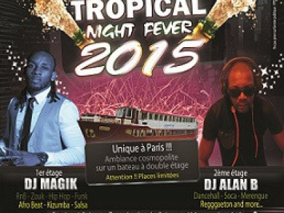Réveillon du nouvel an 2015 : Happy New Tropical Night Fever à la Péniche L'évènement