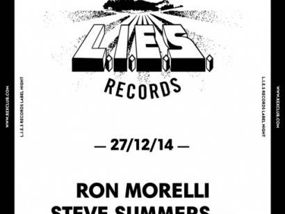 Lies Records Night au Rex Club avec Steve Summers