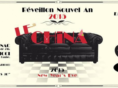 Réveillon du nouvel an 2015 au China