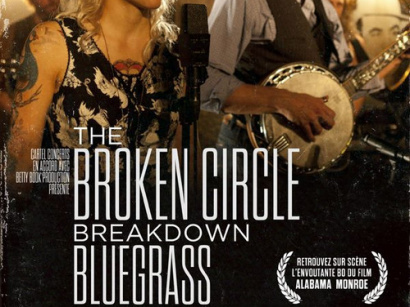 The Broken Circle Breakdown Bluegrass Band en concert à l'Olympia de Paris en octobre 2015