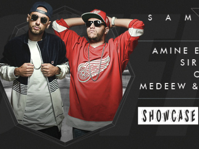 Cuff au Showcase avec Amine Edge & Dance