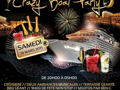 Crazy Boat Party sur le Bateau River's King