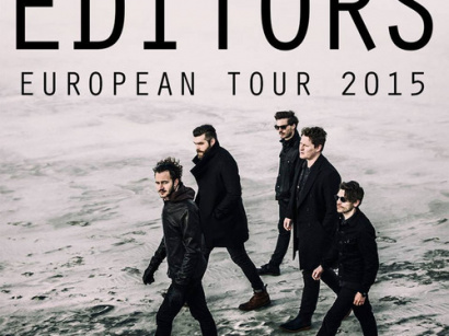 Editors en concert au Trianon de Paris en octobre 2015