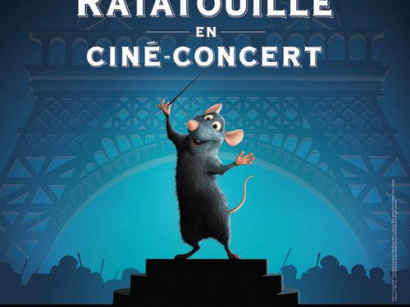 Ratatouille en ciné-concert au Grand Rex de Paris
