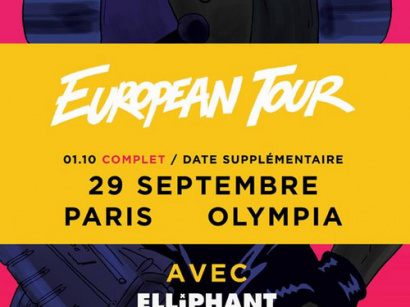 Major Lazer en concerts à l'Olympia de Paris en septembre et octobre 2015