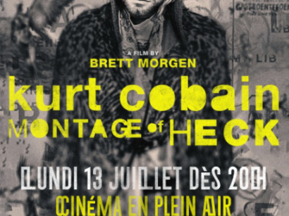 "Cinéma en plein air au Wanderlust : projection de ""Cobain : Montage Of Heck"""