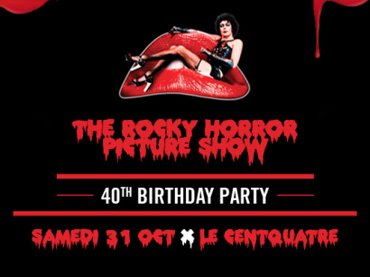 The Rocky Horror Picture Show : 40th Birthday Party au Centquatre