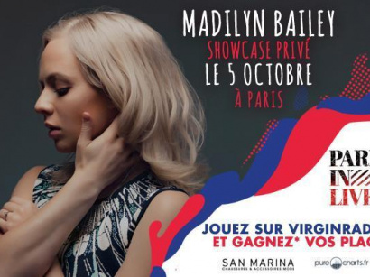 Paris in Live au Bus Palladium avec Madilyn Bailey : gagne ton invit