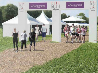 ELLE Run Marionnaud : course en duo à Paris