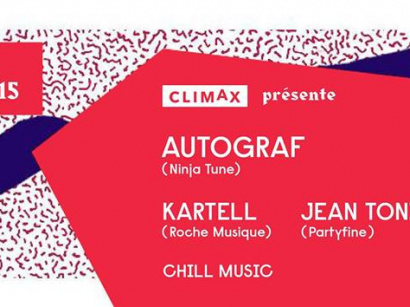 Climax invite Autograf au Showcase