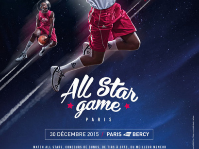 All Star Game 2015 à l'AccorHotels Arena de Paris