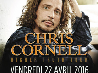 Chris Cornell en concert au Trianon de Paris en 2016