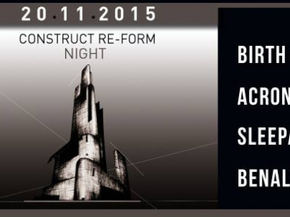 Construct Re-Form Night au Rex Club avec Acronym