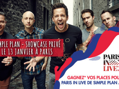 Paris in Live au 118 avec Simple Plan : gagne ta place !