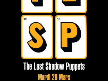 The Last Shadow Puppets en concert à l'Olympia de Paris en mars 2016
