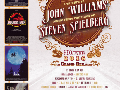 John Williams : The Philharmonic Concert au Grand Rex de Paris en 2016