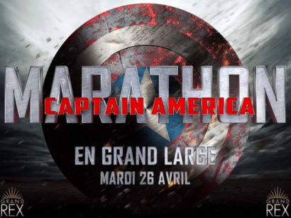 Marathon Captain America au Grand Rex De Paris