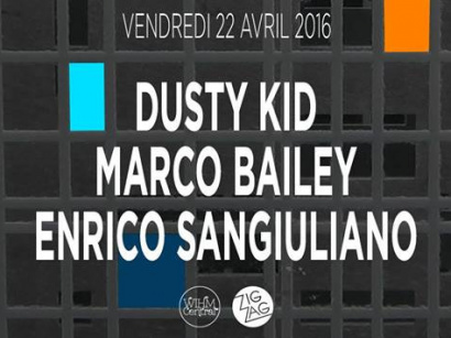 Dusty Kid et Marco Bailey au Zig Zag Club