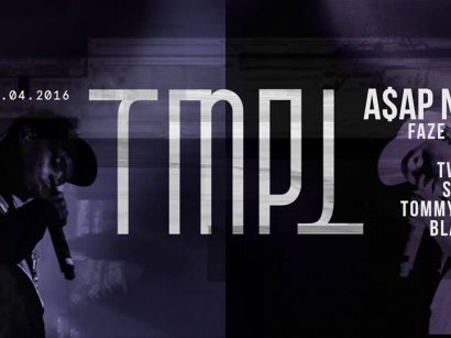 TMPL Party au Showcase avec A$AP NAST