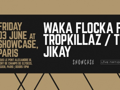 All Trap Music au Showcase avec Waka Flocka Flame