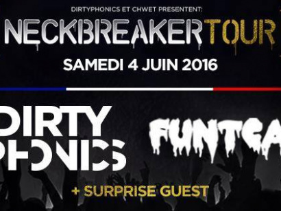 Neckbreaker Tour : Reloaded Paris au Showcase