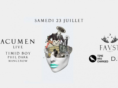 Faust x Time Has Changed avec Acumen en live