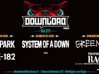 Download Festival Paris 2017 : Green Day à l'affiche