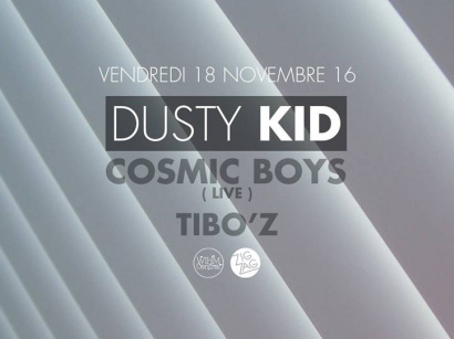 Dusty Kid & Cosmic Boys en live au Zig Zag Club