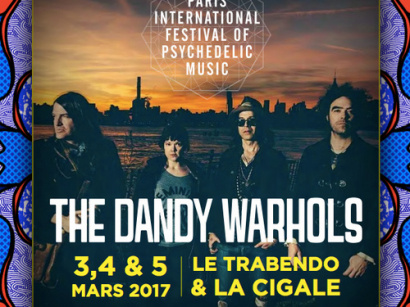The Dandy Warhols en concert à La Cigale de Paris en mars 2017