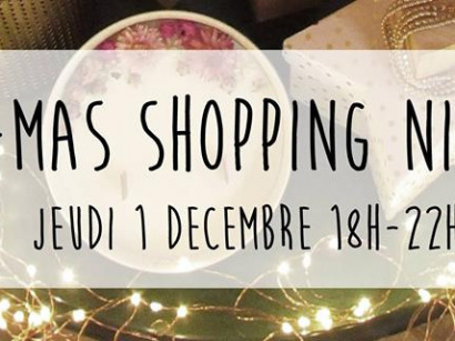 X-Mas Shopping Night chez SEIZE