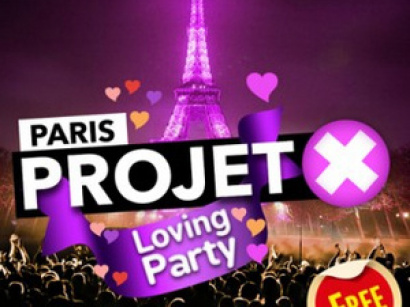 Saint Valentin 2017 : Projet X Love au California Avenue